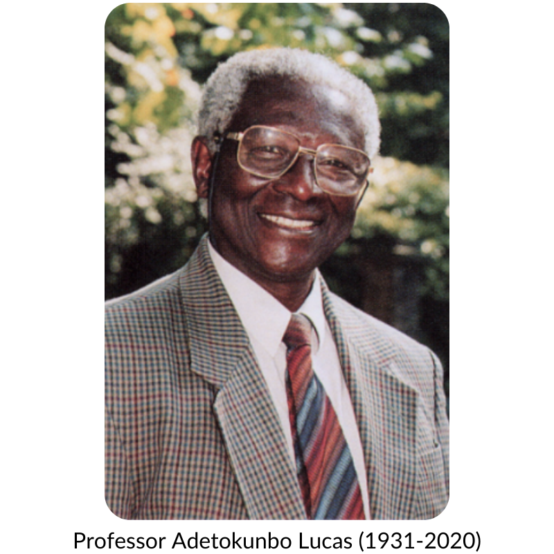 Photo of Professor Lucas. He is smiling.