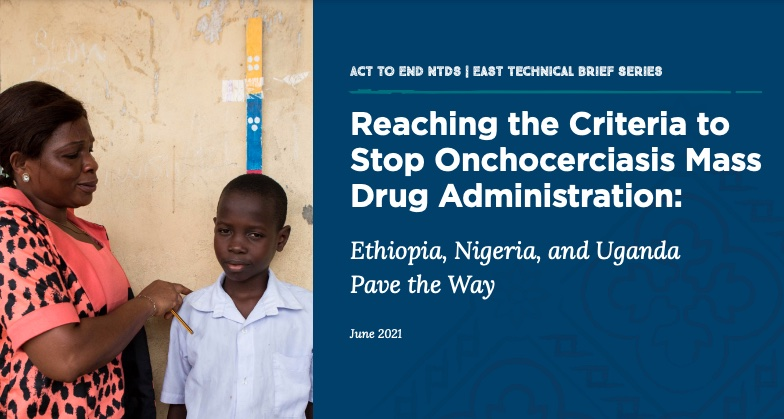 Cover of document with a photo showing a boy standing at a dose pole